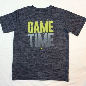 "CHAMPION BOYS   ""GAME TIME ""  T-SHIRT SIZE 14/16"
